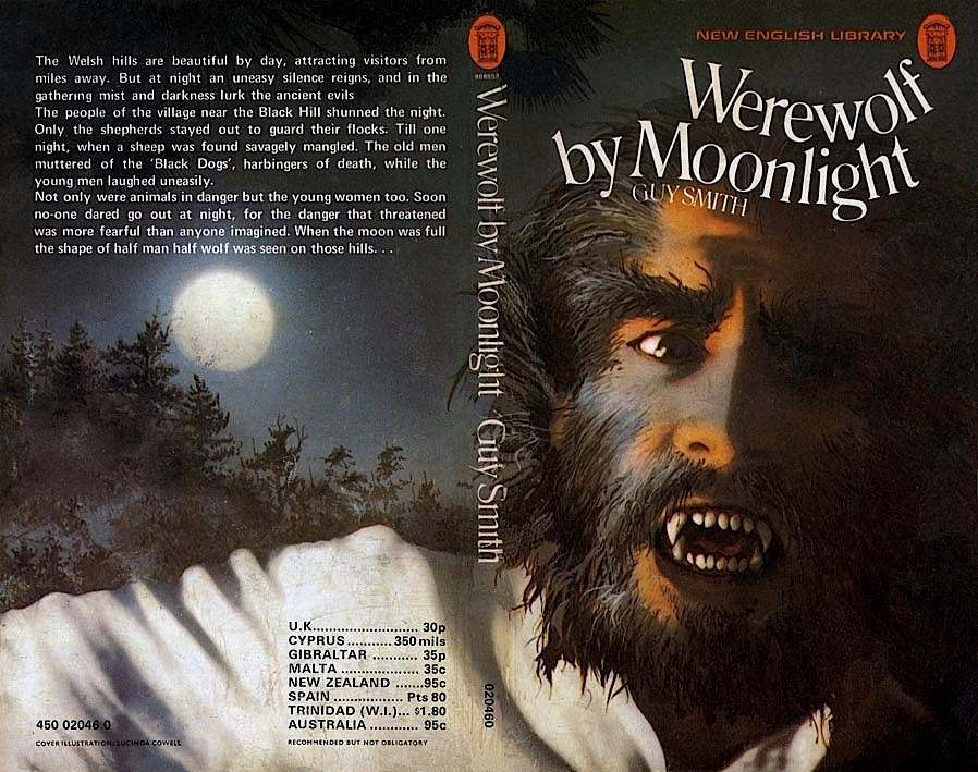 Guys first horror book was a real howl sorry)
