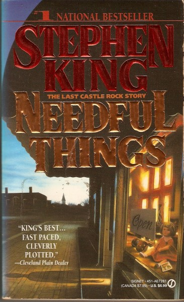 One of many books featuring Castle Rock